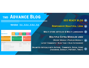 Advance Blog Module
