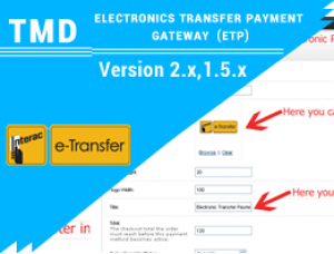 Tmd Electronic Transfer Payment Gateway 1.5.x