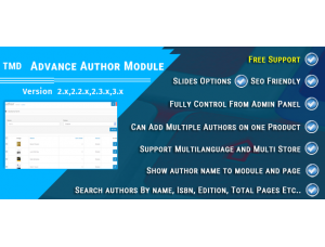 TMD Advance Author Module