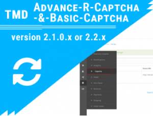 TMD Add and remove captcha each form 2.x