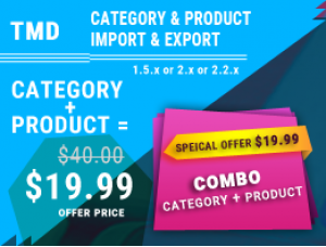 Category & Product Import Export (multilanguage)