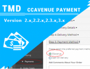 TMD CCAvenue Payment Module opencart 2.x