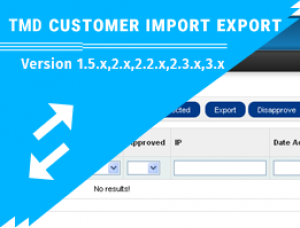 Customer import and export (1.5.x ,2.x & 3.x)
