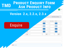 Tmd Product Enquiry Form - Ask Product Info