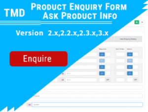 Product Enquiry Form - Ask Product Info