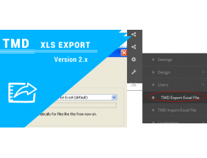 Tmd opencart xls export (1.5x and 2.x)