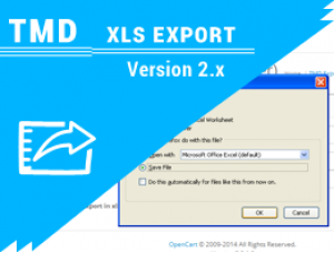 Tmd opencart xls export (1.5.x ,2.x and 3.x)