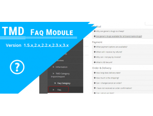 TMD Advance FAQ Module(1.5.x and 2.x)