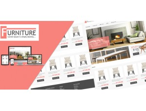 Furniture OpenCart Template 2.x