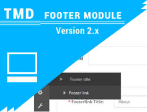TMD Opencart Footer Menu (Multilanguage supported) 2.x