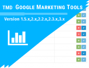 Google Marketing Tools (1.5.x , 2.x & 3.x)