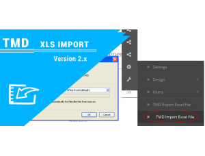 Tmd opencart xls import (1.5.x and 2.x)