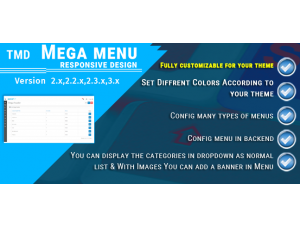 Tmd Advance Mega Menu