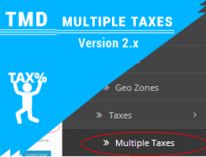 Multiple Taxes ocmod 2.x