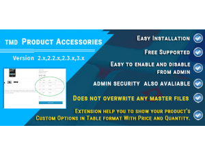 Tmd Product Accessories