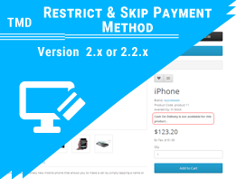 Tmd Restrict & Skip Payment Method