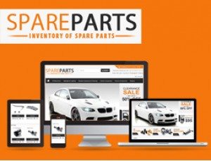 Opencart Spare Parts theme 1.5.x