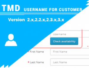 Username for customer ocmod