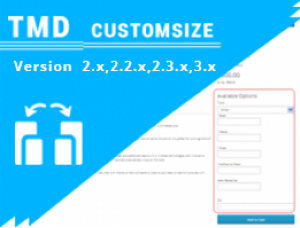 Custom Size option (ocmod & vqmod) 2.x