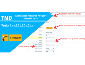 Electronic Transfer Payment Gateway (2.x.x & 3.x.x)
