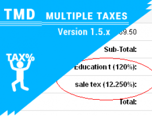 Multiple Taxes module 1.5.x