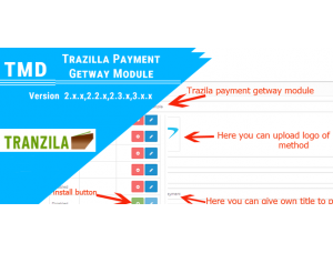 Tranzila Payment Gatway (2.x.x & 3.x.x)