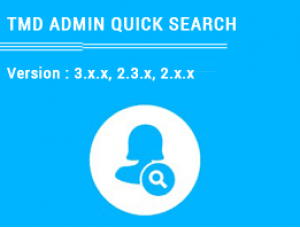Admin Quick Search