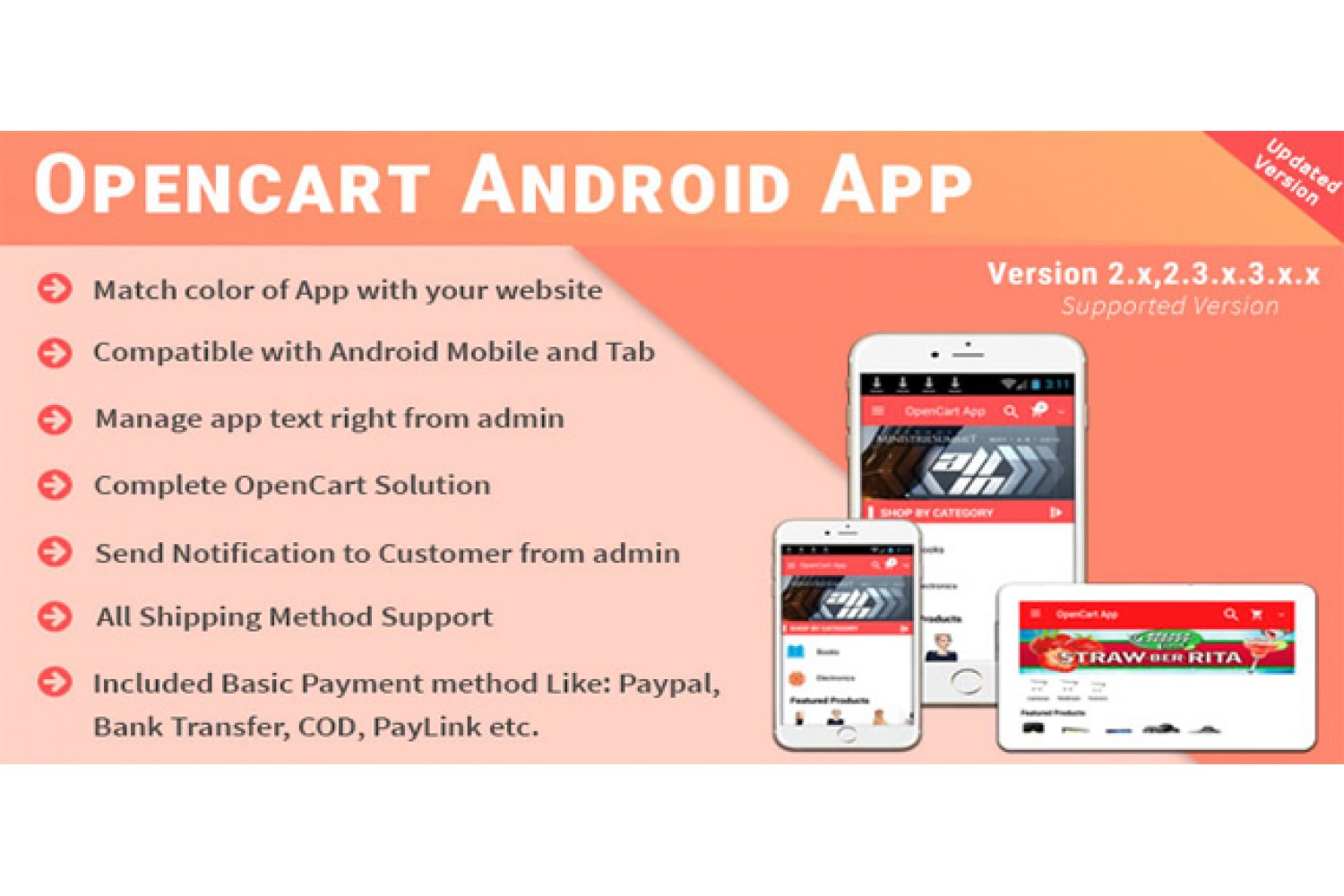 OpenCart App for Company