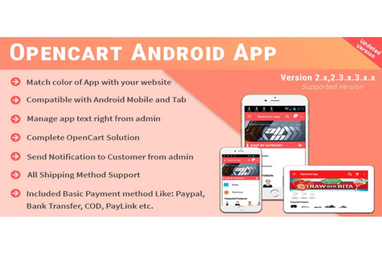OpenCart App for Individual