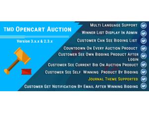 Opencart Auction