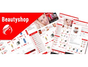 Opencart Beautyshop theme