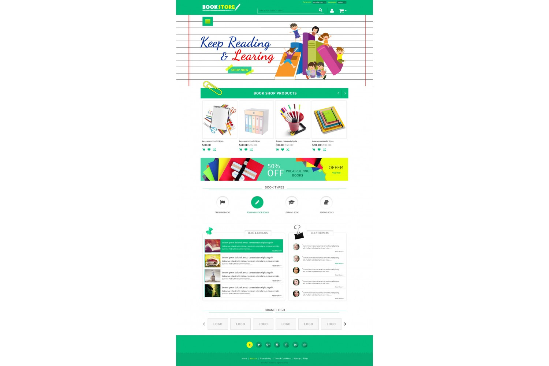 Opencart Responsive Book Shop Opencart Extensions No 1 India