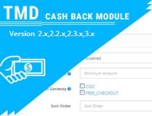 Cashback Module (2.x & 3.x )