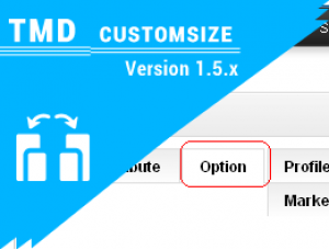 Custom Size option ( vqmod) 1.5.x