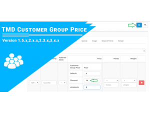 Customer Group Price