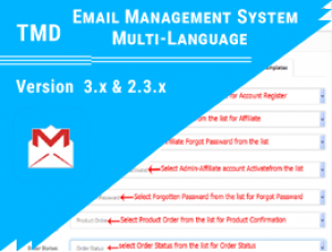 OpenCart Email Management System multi-language  (2.x & 3.x)