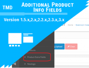 Additional Product Info Fields(1.5.x , 2.x & 3.x)