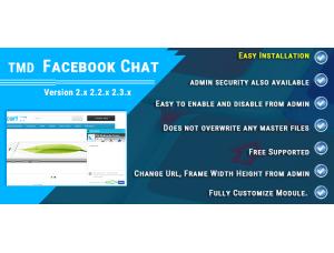 Facebook Chat Module