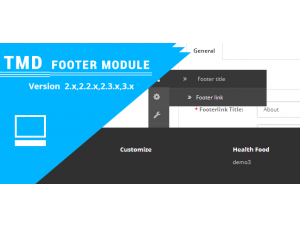 Opencart Footer Menu (Multilanguage supported) (2.x.x & 3.x.x)