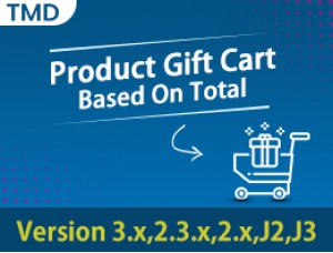 Product Gift Cart Based On Total
