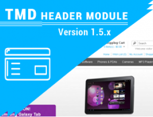 Custom Opencart Header Menu Free 1.5.x