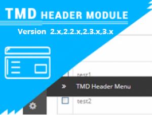 Custom opencart header menu free ocmod (2.x.x & 3.x.x)