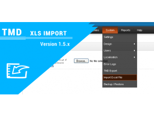 Opencart XLS Import Extension (Product Import Module ) 1.5.x