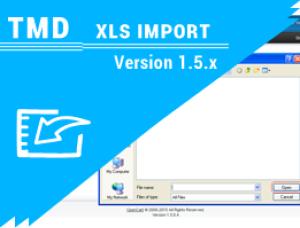Opencart XLS Import Extension (Product Import Module ) 1.5.x