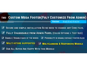 Mega Footer 2.x.x & 3.x