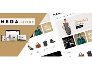 Opencart theme Mega Store  (2.x & 3.x)