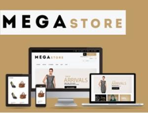 Opencart theme Mega Store 1.5.x