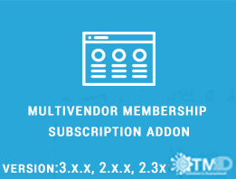 Multivendor Membership/Subscription ADDON