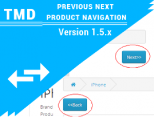 Previous/Next Product Navigation 1.5.x