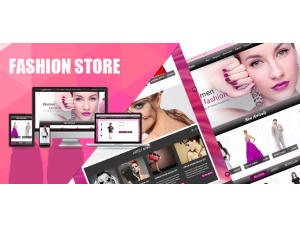 Opencart New Fashion Theme